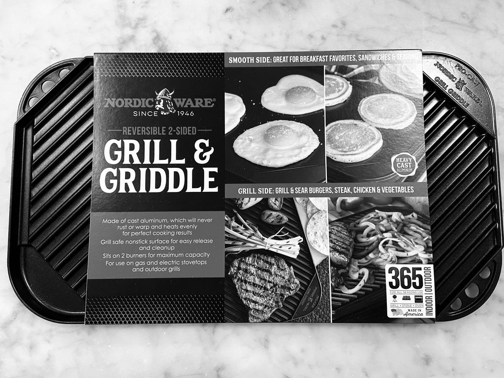 Reverse Grill & Griddle Pan