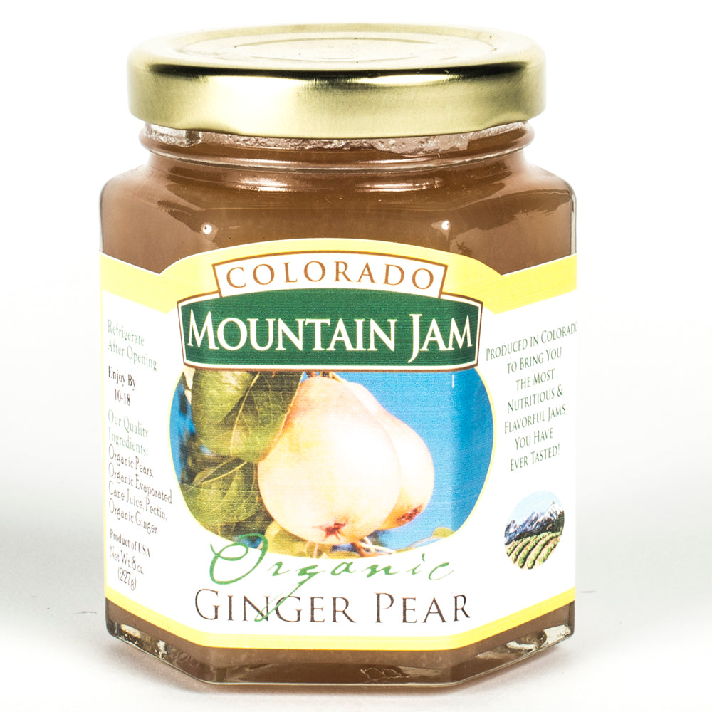 Organic Ginger Pear Jam 8oz