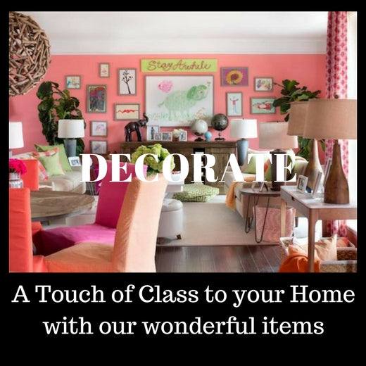 A touch of Class: Special decorating articles