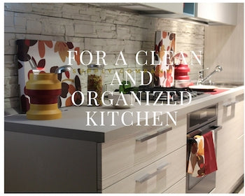 Keep Your Kitchen Organized and Clean
