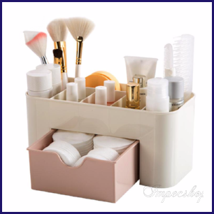 Merveilleux Dressing Table Organizer, No More Losing Your Brushes And Cosmetics!
