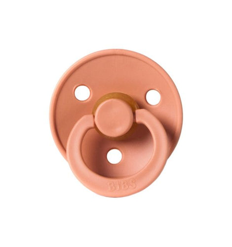 Bibs Pacifier by Mushie - Knoxville TN Children's Boutique - Peach