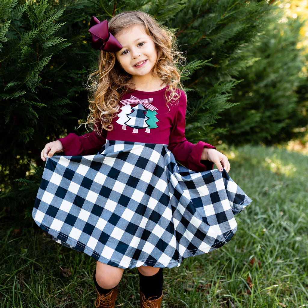 Rockin' Around The Christmas Tree Dress