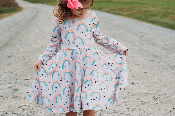 Color My World Twirl Dress
