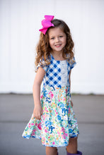 Load image into Gallery viewer, Peyton's Garden Twirl Dress
