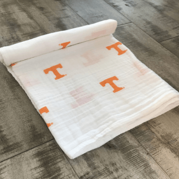 University of TN Swaddle Blanket