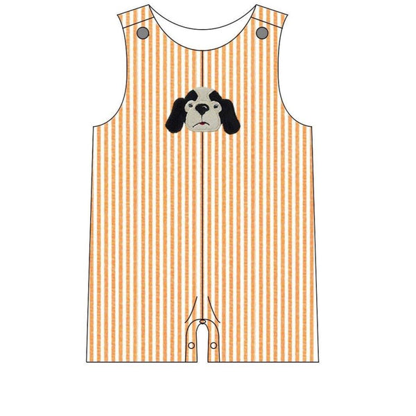 Boys Hound Dog Tennessee Baby Romper | Orange Poppy Children's Boutique