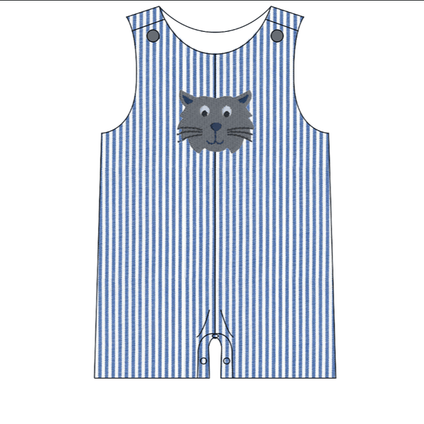 Kentucky Wildcats Baby Boy Romper | Orange Poppy Children's Boutique