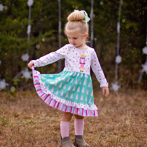 Girls Christmas Nutcracker Ballet Dress | Orange Poppy Children's Boutique