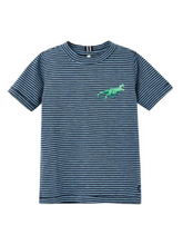 Load image into Gallery viewer, Rex Striped Tee | Joules