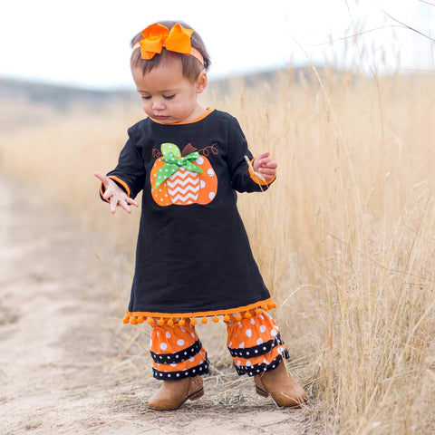 Fa-BOO-lous Pant Set - Orange Poppy Boutique