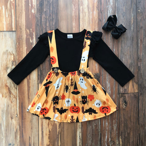 Spooky Cute Jumper Set - Orange Poppy Boutique