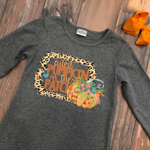 Cutest Pumpkin In The Patch Shirt - Orange Poppy Boutique