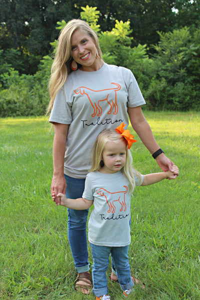 Toddler Tennessee Tradition Tee - Orange Poppy Boutique