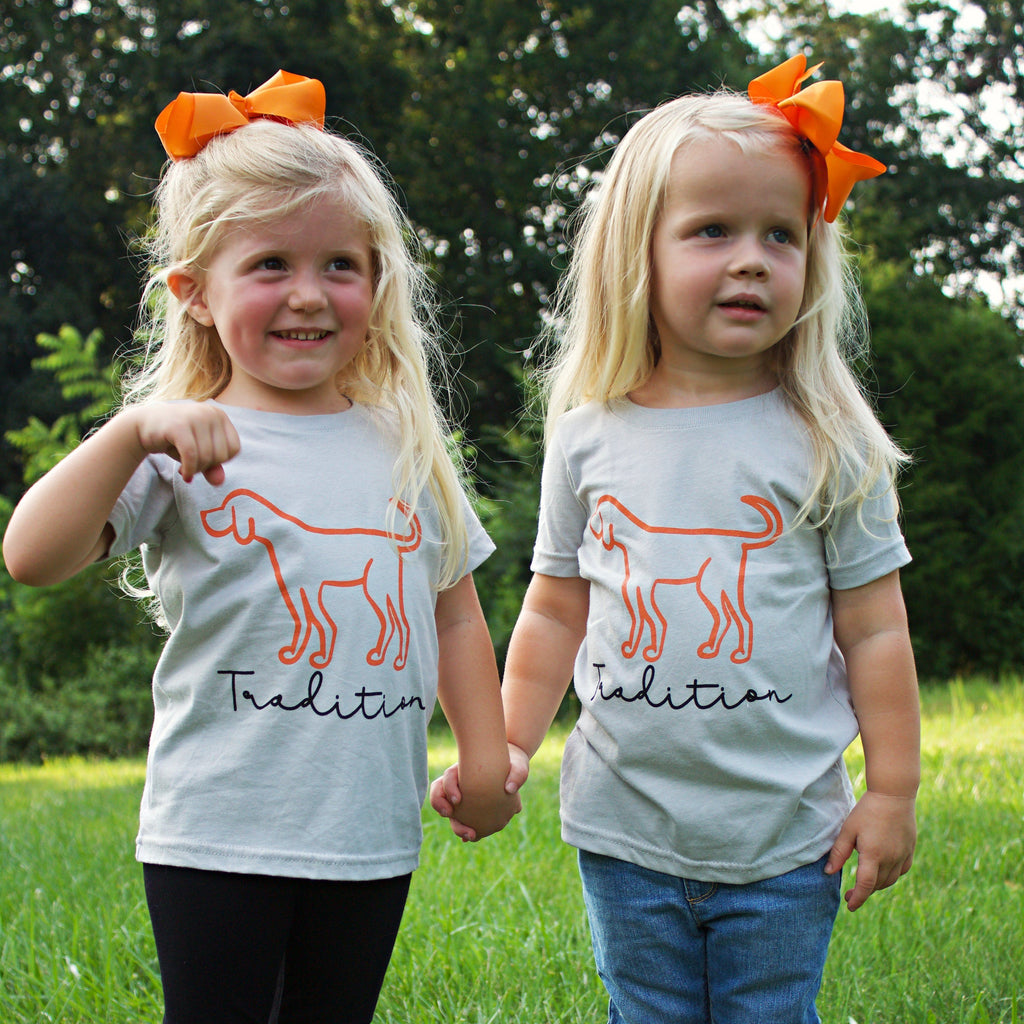 Youth Tennessee Tradition Tee - Orange Poppy Boutique