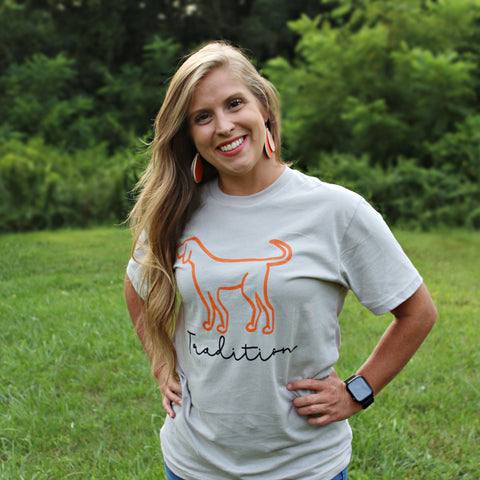 Adult Tennessee Tradition Tee - Orange Poppy Boutique