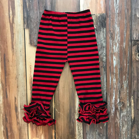 Red & Black Icing Pants - Orange Poppy Boutique