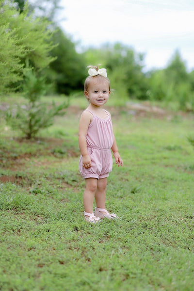 Blush Bouquet Romper - Orange Poppy Boutique