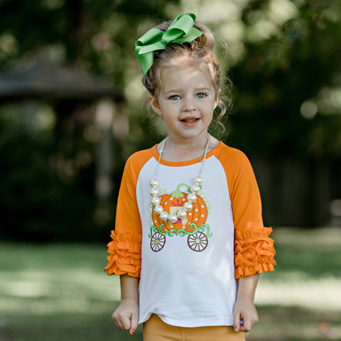 Bibbidi BOO Raglan - Orange Poppy Boutique