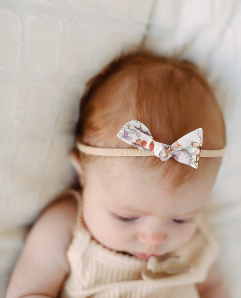 Aria Nylon Headband 3pc Set - Orange Poppy Boutique