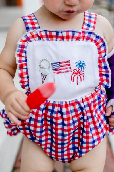 Fireworks & Freedom Bubble Romper