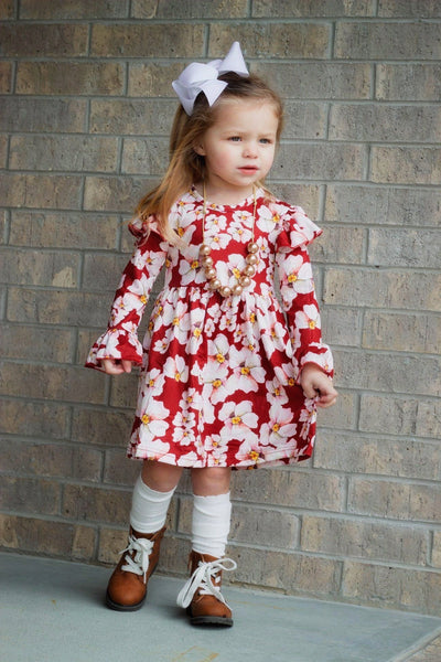 Dogwood Trail Dress - Orange Poppy Boutique