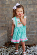Load image into Gallery viewer, Bunny Treats Dress - Orange Poppy Boutique