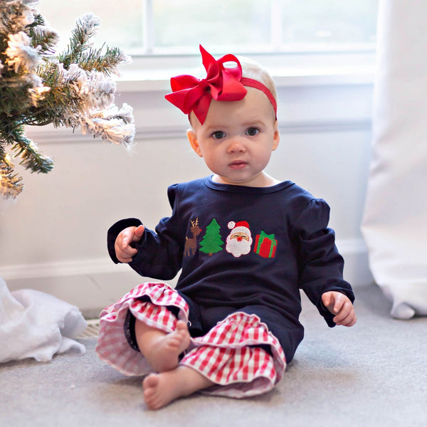 Letters to Santa Ruffle Romper