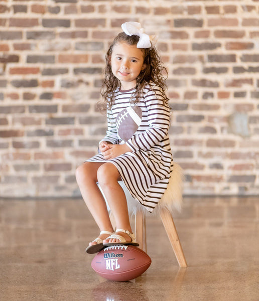 Touchdown Dress - Orange Poppy Boutique
