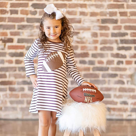 girls football dress