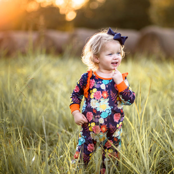 Autumn Bouquet Romper