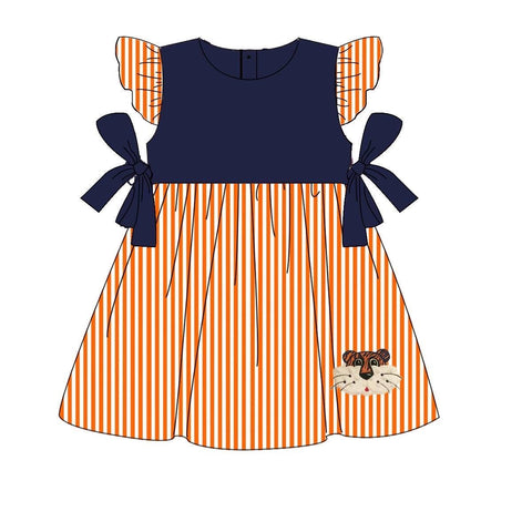Auburn Tigers Girls Dress | Orange Poppy Children's Boutique