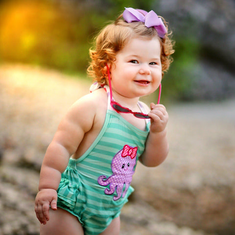 Little Squirt Bubble Romper