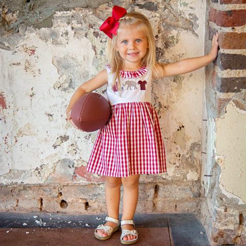 Alabama Football Girls Outfit Dress
