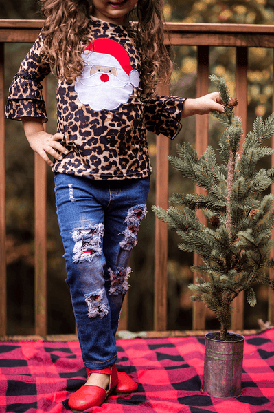 St. Nick Distressed Jean Set