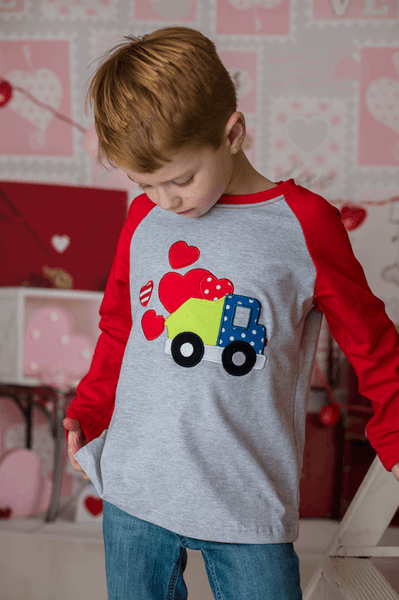 Haulin' Hugs Raglan - Orange Poppy Boutique