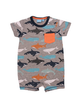 Load image into Gallery viewer, Deep Sea Romper | Bear Camp