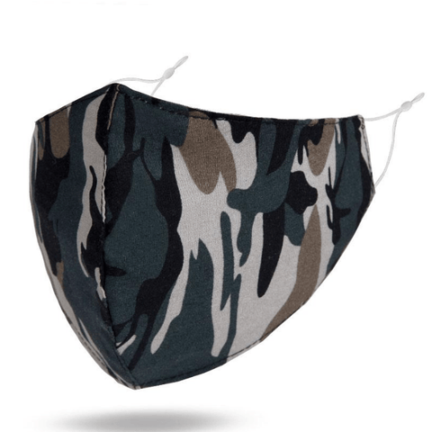 Camo Crush - Adult Mask