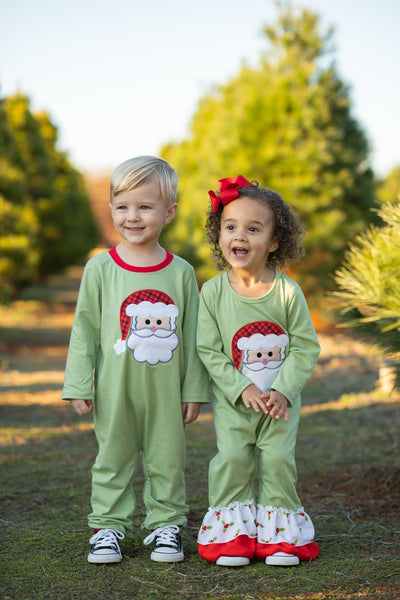 Very Merry Christmas Romper - Orange Poppy Boutique