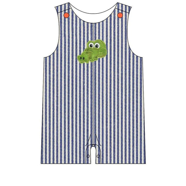 Florida Gators Baby Boy Romper | Orange Poppy Children's Boutique