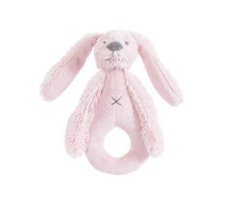 Newcastle Classics Pink Rabbit Richie Rattle by Happy Horse