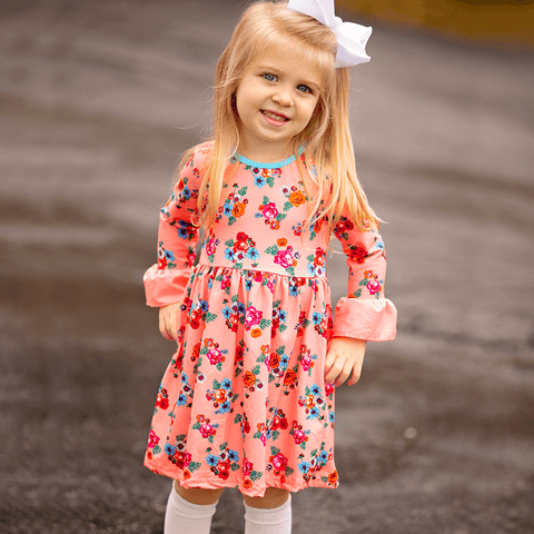 girls spring dress girls outfit