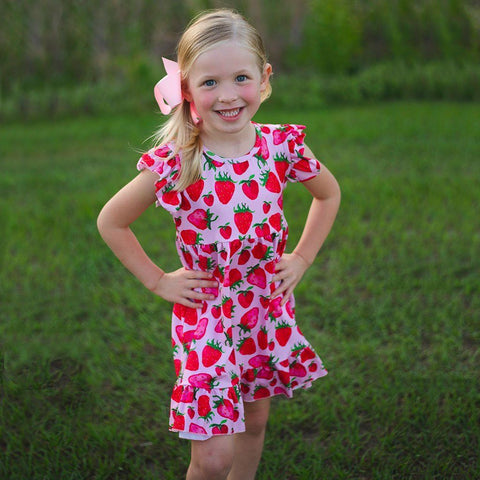 Berry Sweet Dress - Orange Poppy Boutique