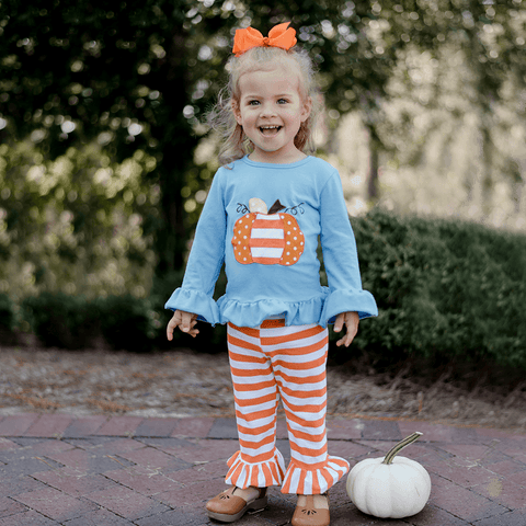 Boo Day Pant Set - Orange Poppy Boutique