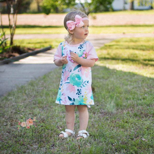 Blooming Fields Dress - Orange Poppy Boutique