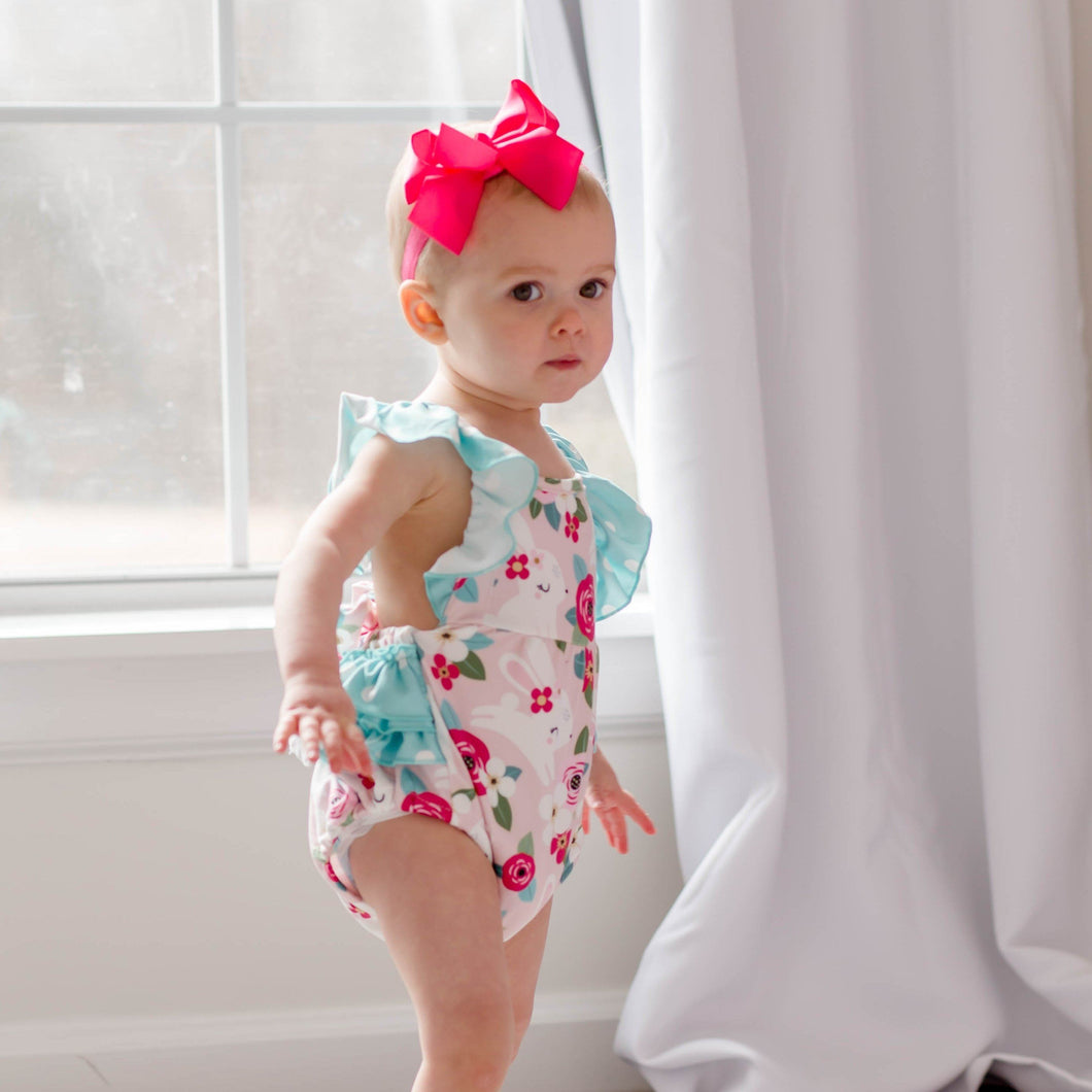 Morning Glory Bubble Romper