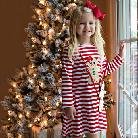 Gingerbread Kisses & Christmas Wishes Dress Set