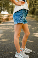 Load image into Gallery viewer, Josie Frayed Jean Shorts