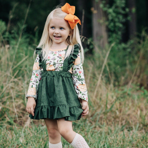 Autumn Walk Jumper - Orange Poppy Boutique