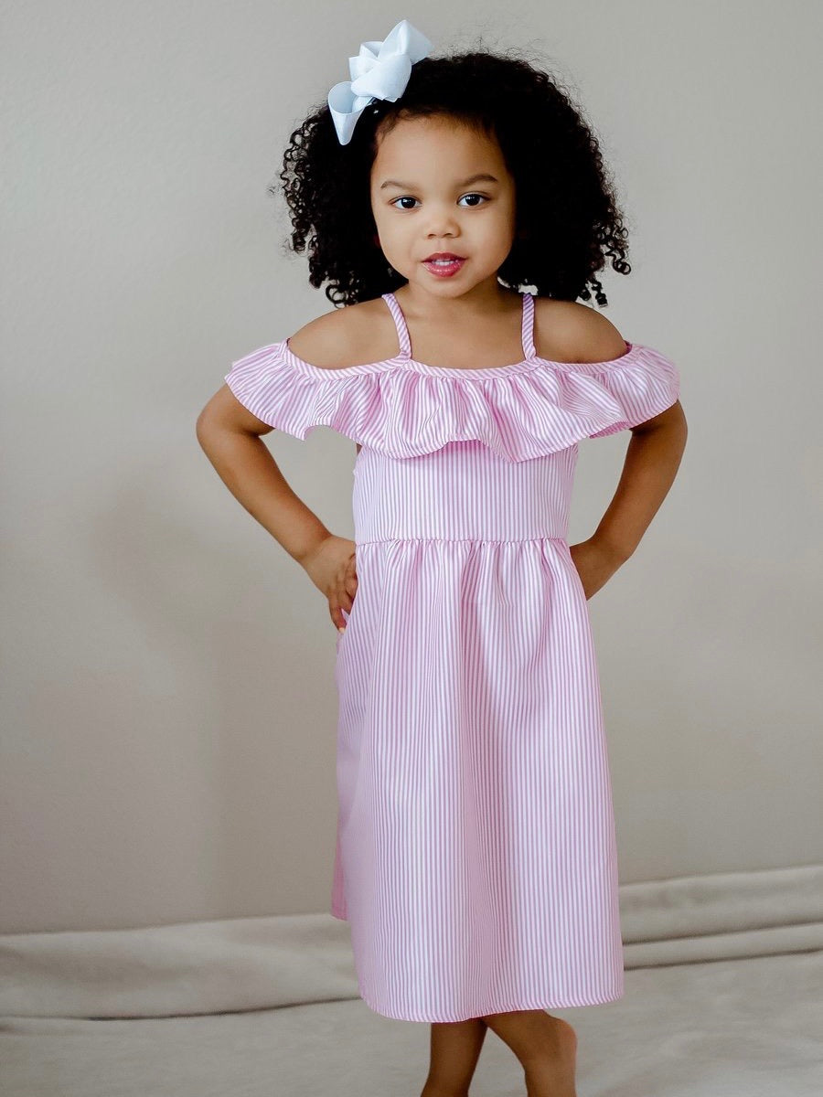 Evelyn Dress - Sweet Pink